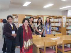 "7. Visiting ""Trepied,"" the Amagasaki Women's Center, and taking a look around the facility"